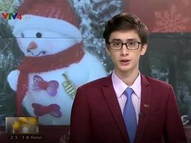 MC ngoại quốc trên VTV khiến các cô gái 'lùng sục' thông tin vì quá điển trai