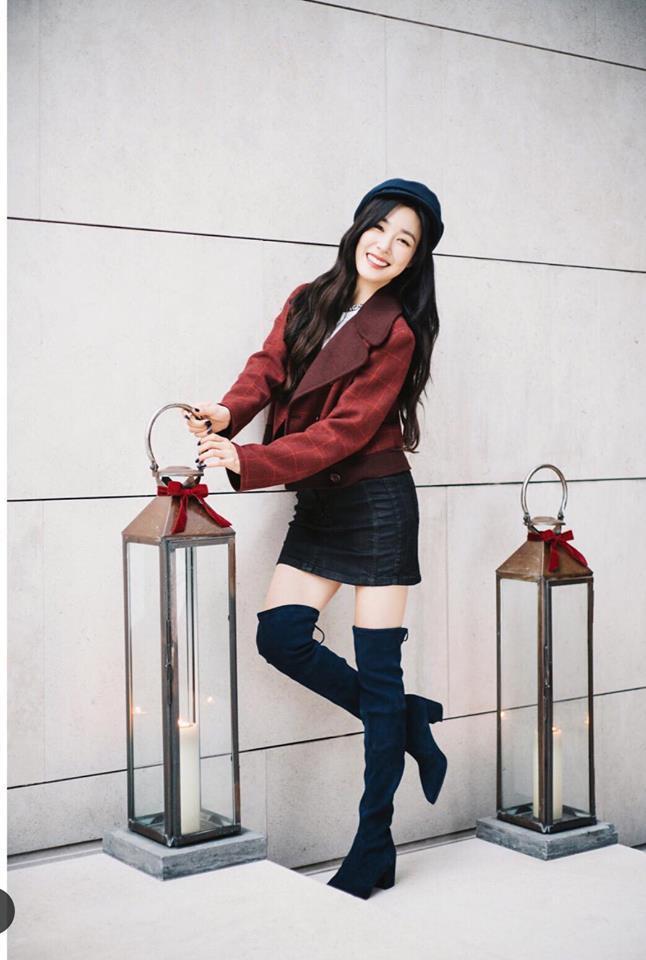 HyunA sexy váy ngắn cũn - Park Shin Hye giản dị đẹp bất chấp nổi nhất street style sao Hàn-5