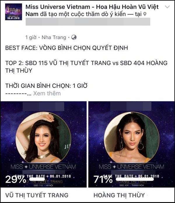 Hoàng Thùy bất ngờ thắng giải Gương mặt đẹp nhất tại Hoa hậu Hoàn vũ Việt Nam 2017-1