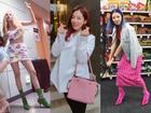 HyunA sexy váy ngắn cũn - Park Shin Hye giản dị đẹp bất chấp nổi nhất street style sao Hàn