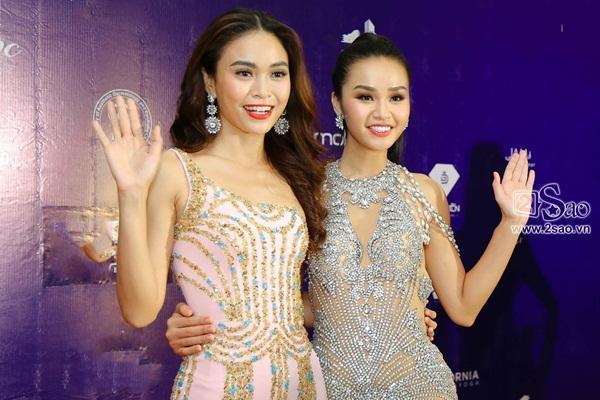 Sau scandal đá váy, Mâu Thủy và Lê Thu Trang bất ngờ chụp ảnh ôm eo thân thiết-2