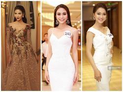 Đặt lên bàn cân nhan sắc 5 người đẹp được đánh giá giành ngôi cao nhất Hoa hậu Hoàn vũ Việt Nam 2017