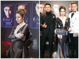 Nhật Kim Anh váy áo lộng lẫy được dàn trai đẹp vây quanh tại buổi ra mắt phim 18+