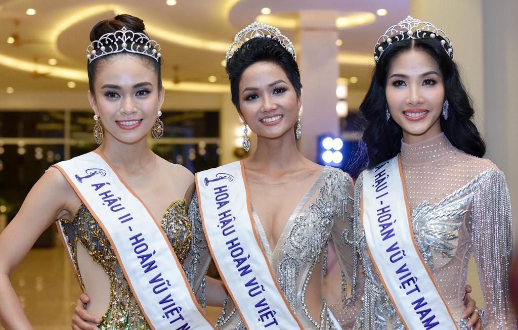 Top 3 Hoa hậu Hoàn vũ Việt Nam 2017