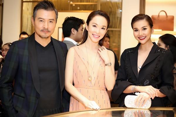 Thanh Hằng mặc đồ 3 tỷ đẹp sang chảnh hội ngộ sao quốc tế Phạm Văn Phương-4