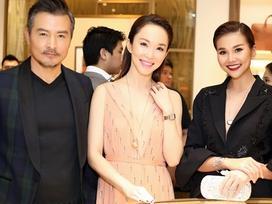 Thanh Hằng mặc đồ 3 tỷ đẹp sang chảnh hội ngộ sao quốc tế Phạm Văn Phương