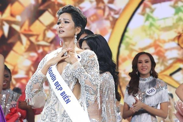 Mặt mộc của Tân Hoa hậu Hoàn vũ Việt Nam 2017-1