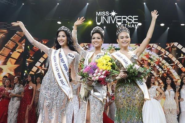 Mặt mộc của Tân Hoa hậu Hoàn vũ Việt Nam 2017-3