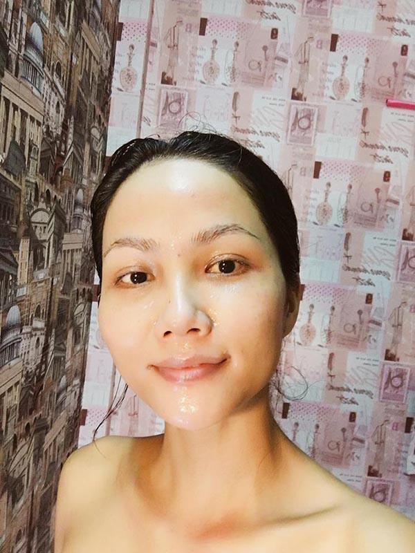 Mặt mộc của Tân Hoa hậu Hoàn vũ Việt Nam 2017-9