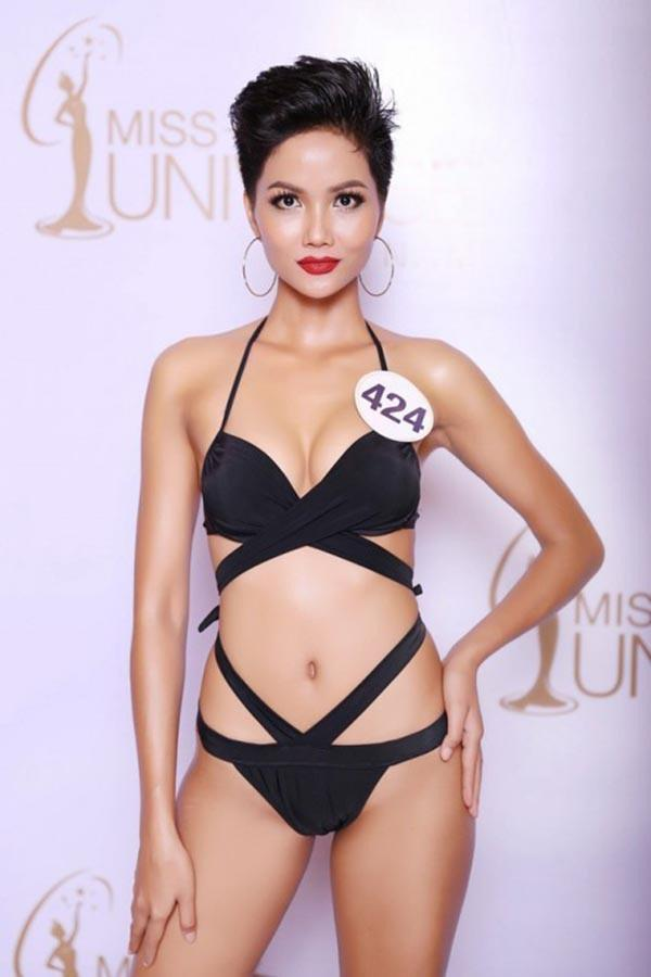 Mặt mộc của Tân Hoa hậu Hoàn vũ Việt Nam 2017-13