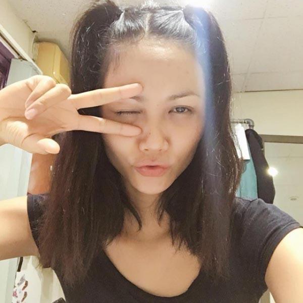 Mặt mộc của Tân Hoa hậu Hoàn vũ Việt Nam 2017-10