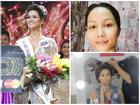 Mặt mộc của Tân Hoa hậu Hoàn vũ Việt Nam 2017
