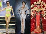 Những chiếc váy giúp Phạm Hương tỏa sáng từ khi bắt đầu đến lúc kết thúc Hoa hậu Hoàn vũ Việt Nam 2017-13