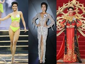 Những trang phục giúp H'Hen Niê tỏa sáng và chinh phục vương miện Hoa hậu Hoàn vũ Việt Nam 2017