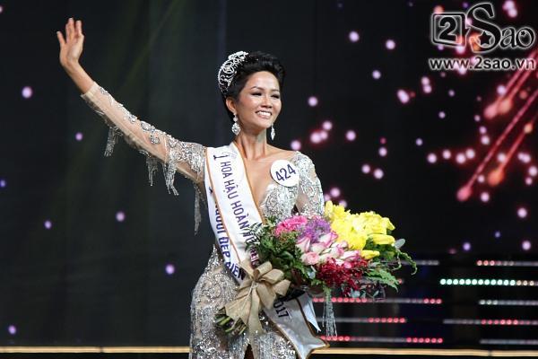 Khởi đầu 2018, HHen Nie chiếm spotlight khi đăng quang Hoa hậu Hoàn vũ Việt Nam 2017-3