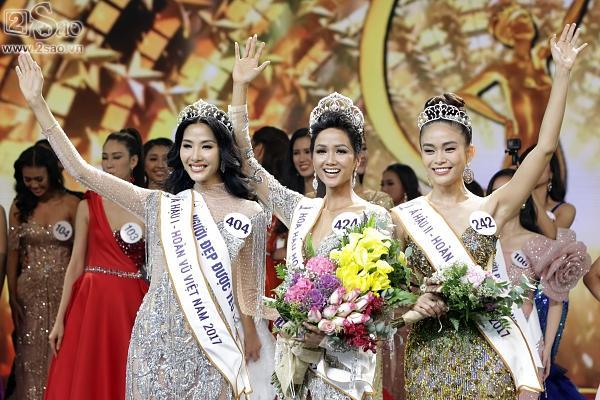 Khởi đầu 2018, HHen Nie chiếm spotlight khi đăng quang Hoa hậu Hoàn vũ Việt Nam 2017-4