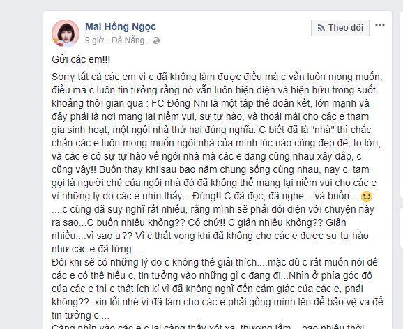 Đông Nhi lên tiếng trước sự việc FC đòi tẩy chay