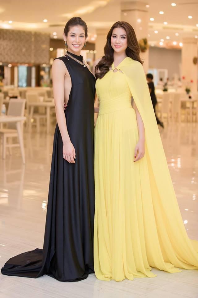 Những chiếc váy giúp Phạm Hương tỏa sáng từ khi bắt đầu đến lúc kết thúc Hoa hậu Hoàn vũ Việt Nam 2017-5