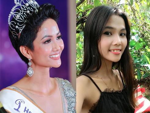 Chân dung cô em gái nhỏ nhắn, xinh xắn của em gái Hoa hậu Hoàn vũ Việt Nam 2017-1