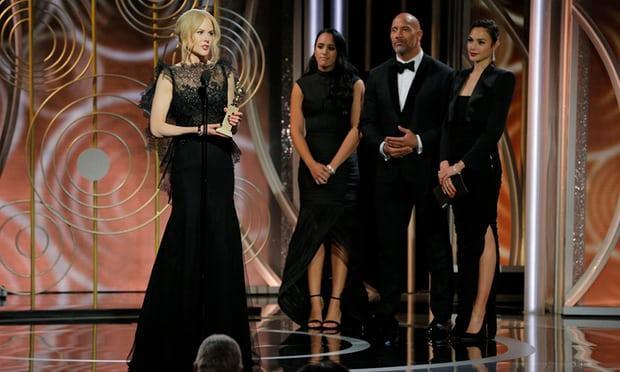 Nicole Kidman lần thứ tư lên ngôi ở Quả Cầu Vàng-1