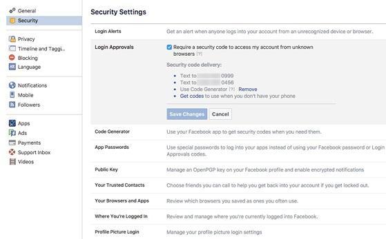Làm thế nào để bảo mật Facebook tốt hơn?-2