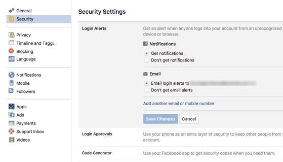 Làm thế nào để bảo mật Facebook tốt hơn?-4
