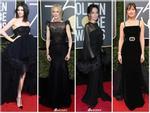 Angelina Jolie cùng dàn sao Hollywood 'nhuộm đen' thảm đỏ Quả Cầu Vàng 2018
