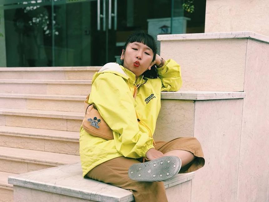 Hiện tượng lạ Trang Hý phá nát bản rap Sunshine Alone của Binz ft Rhymastic-1
