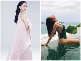 Chuẩn bị thi Hoa hậu, Hương Giang Idol bị 'đào mộ' màn catwalk gây cười vì ngã 'sấp mặt'