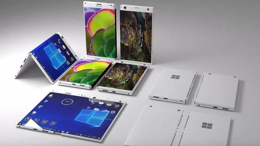 Kỹ sư Microsoft vô tình xác nhận hãng sắp ra smartphone gập-1