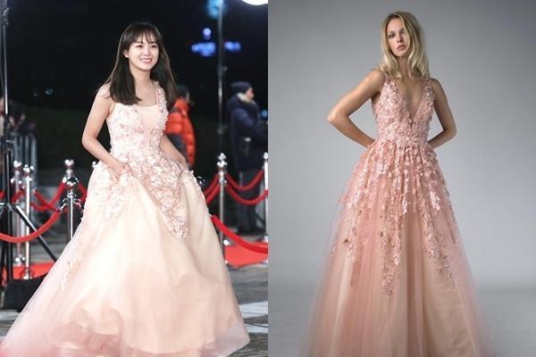 Bóc giá loạt váy áo lộng lẫy trên thảm đỏ của dàn mỹ nhân xứ Hàn-1