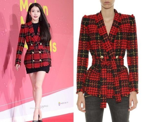Bóc giá loạt váy áo lộng lẫy trên thảm đỏ của dàn mỹ nhân xứ Hàn-7