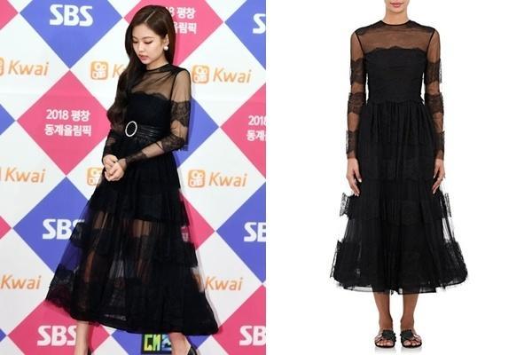 Bóc giá loạt váy áo lộng lẫy trên thảm đỏ của dàn mỹ nhân xứ Hàn-8