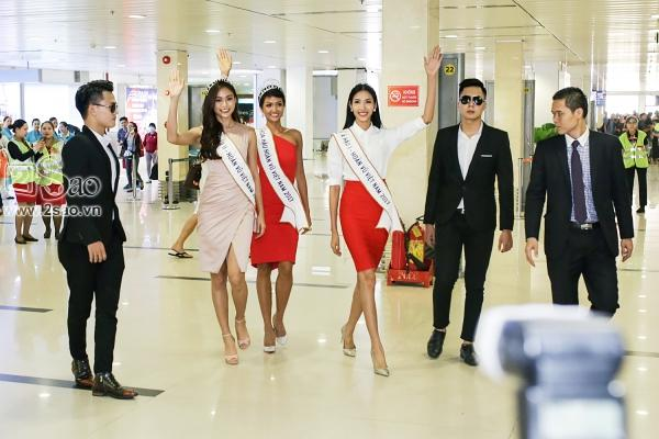 Xuất hiện tại sân bay, hoa hậu HHen Niê được chào đón nồng nhiệt như sao Hàn-3
