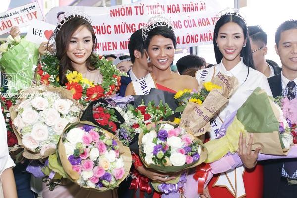 Xuất hiện tại sân bay, hoa hậu HHen Niê được chào đón nồng nhiệt như sao Hàn-6