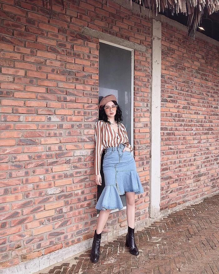 Angela Phương Trinh sến sẩm - Kỳ Duyên khoe lưng trần gợi cảm nổi bật nhất street style tuần mới-3