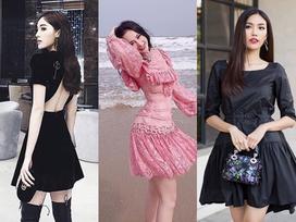 Angela Phương Trinh sến sẩm - Kỳ Duyên khoe lưng trần gợi cảm nổi bật nhất street style tuần mới