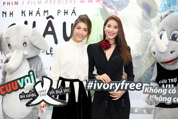 Phan Anh, Phạm Hương và Lệ Hằng ứa nước mắt khi thấy động vật hoang dã bị sát hại-4
