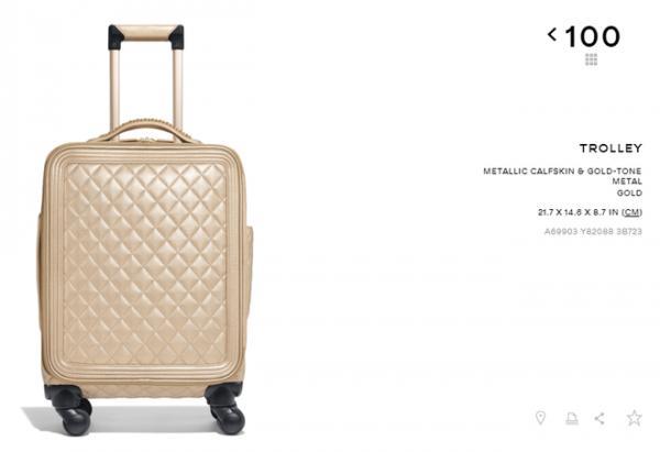 Ngọc Trinh chi 160 triệu đồng tậu vali cực chất của Chanel-2