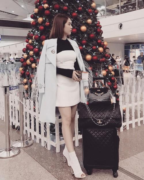 Ngọc Trinh chi 160 triệu đồng tậu vali cực chất của Chanel-3