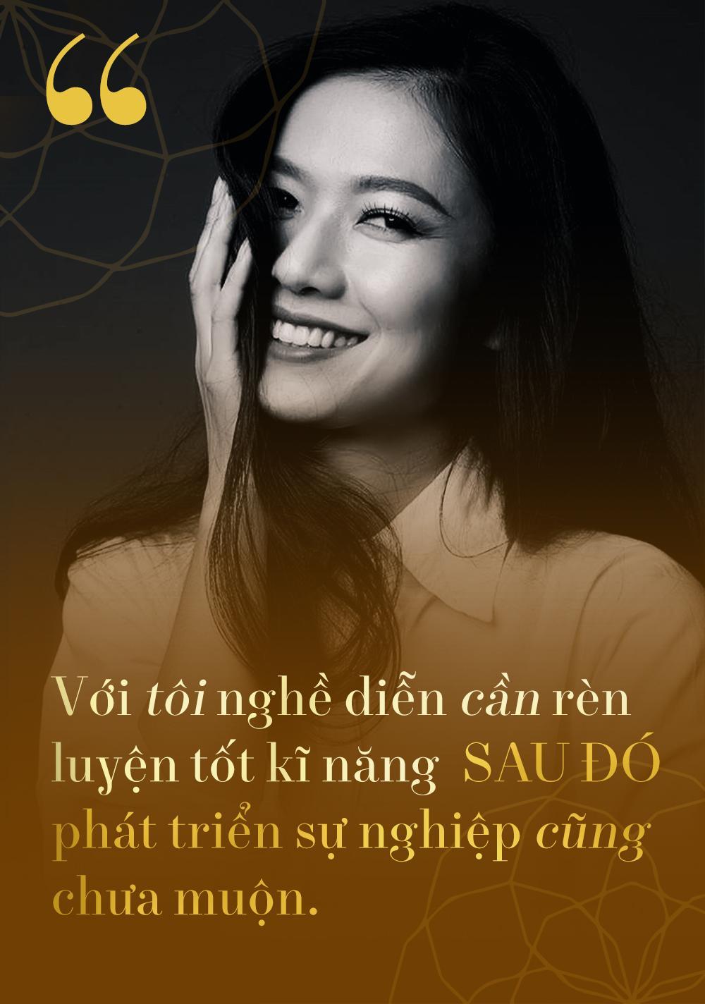 Cô gái hot nhất Vì yêu mà đến Oanh Kiều: Yêu người kém tuổi, đó là hạnh phúc-4