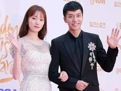 Lee Seung Gi và 'tiên nữ cử tạ' Lee Sung Kyung đẹp đôi hết nấc trên thảm đỏ Golden Disk Awards