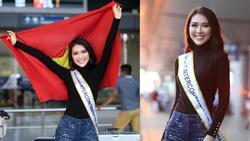 Tường Linh khoe vòng eo 54cm trước khi lên đường chinh phục Hoa hậu Liên lục địa