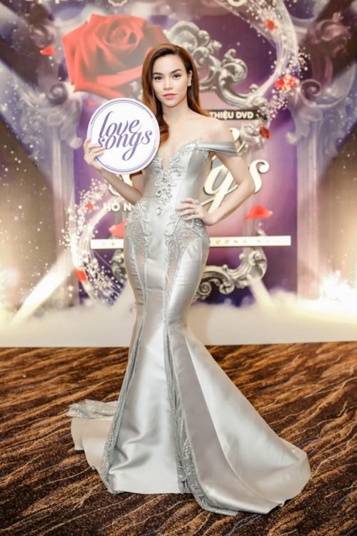 Tường Linh khiến fan lo lắng khi liên tục chọn váy cũ của Hà Hồ để lên đường thi thố nhan sắc-5