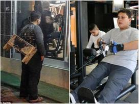 Cậu bé đánh giày buồn bã đứng trước cửa phòng gym và cái kết bất ngờ