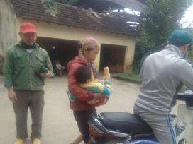 Vật thể lạ phát nổ khiến 2 trẻ nhỏ bị thương