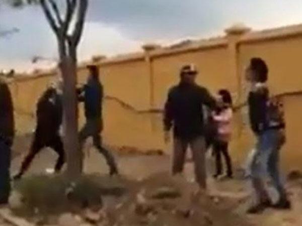 Sự thật bất ngờ về vụ xô xát đánh cả bé gái gần trường THCS Long Biên-1