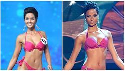 Đứng cạnh Á hậu Hoàn vũ Thế giới, H'Hen Niê 'bên 10, bên 8' đẹp chẳng kém bản chính