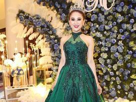 Đổi liên tục 5 bộ váy trong hôn lễ, Lâm Khánh Chi khiến người xem 'ngạt thở'