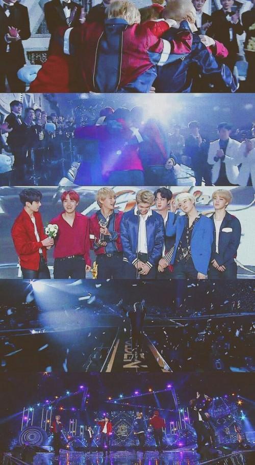 Suốt 9 năm qua, Daesang của Grammy xứ Hàn không rời SM và BTS vừa phá bỏ nó!-3